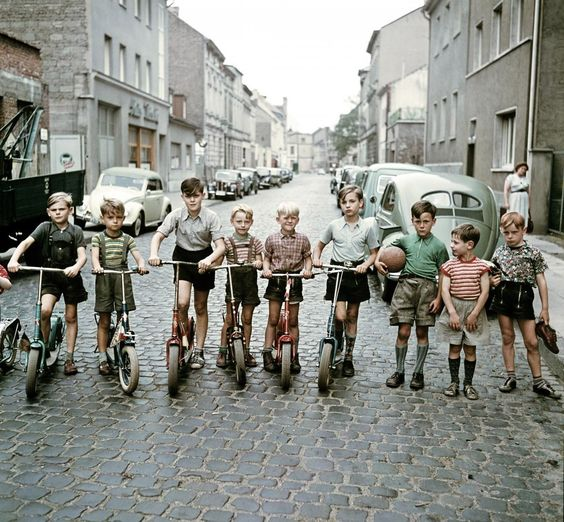 Die Roller-Kinder